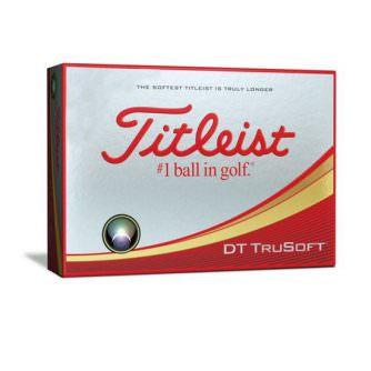 Titleist TruSoft golfboltar