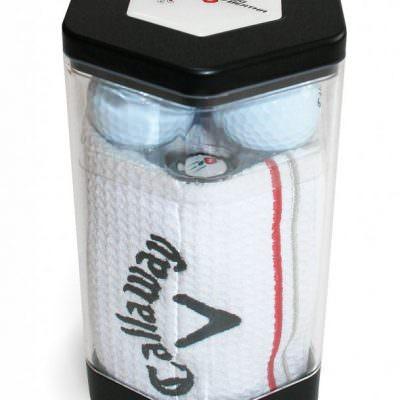 "Callaway Golf gjafaaskja ""3 ball towel"""