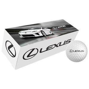 Sérmerkt golfboltapakkning