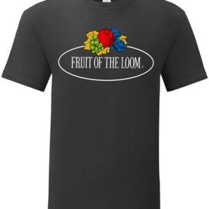 """FRUIT OF THE LOOM bolur með stóru logo """"Vintage"""""""